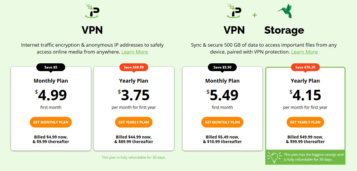 IPVanish Review Pricing