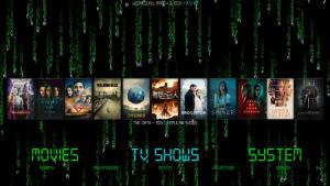 matrix kodi build tv