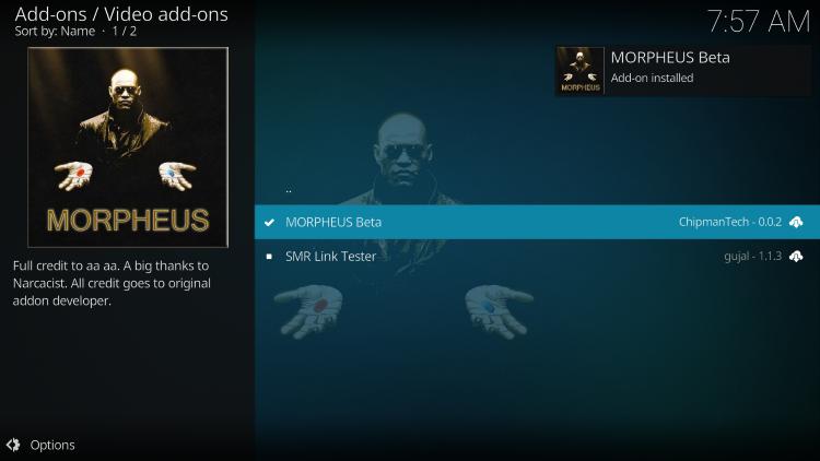 wait for morpheus add-on installed