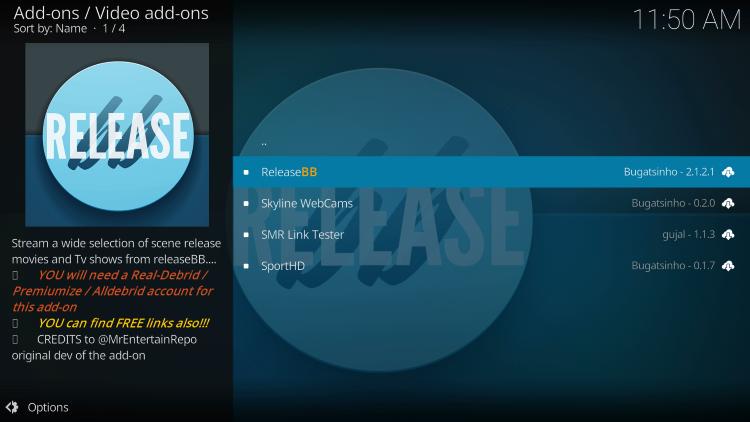 Select ReleaseBB