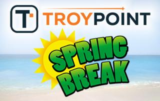TROYPOINT Spring Break Giveaway
