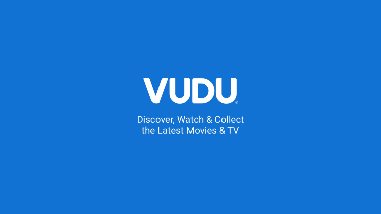 The Vudu app will begin to launch.