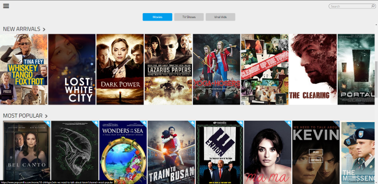 Popcornflix is a well-known streaming website that requires no registration. This site is also filled with free movies from biographies to musicals.