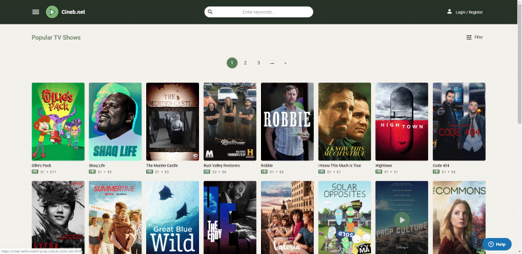 Although Cineb is a newer streaming option on this list, this site is an excellent Afdah alternative.