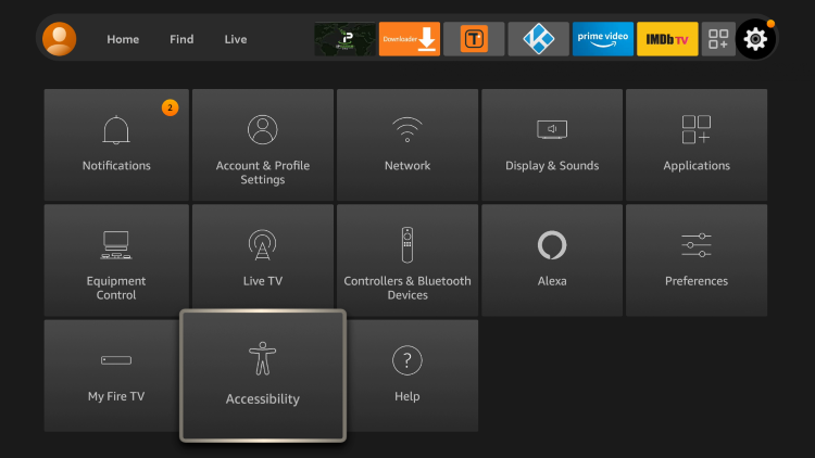 Using text banners is another solution to removing grey app icons on the Firestick/Fire TV.