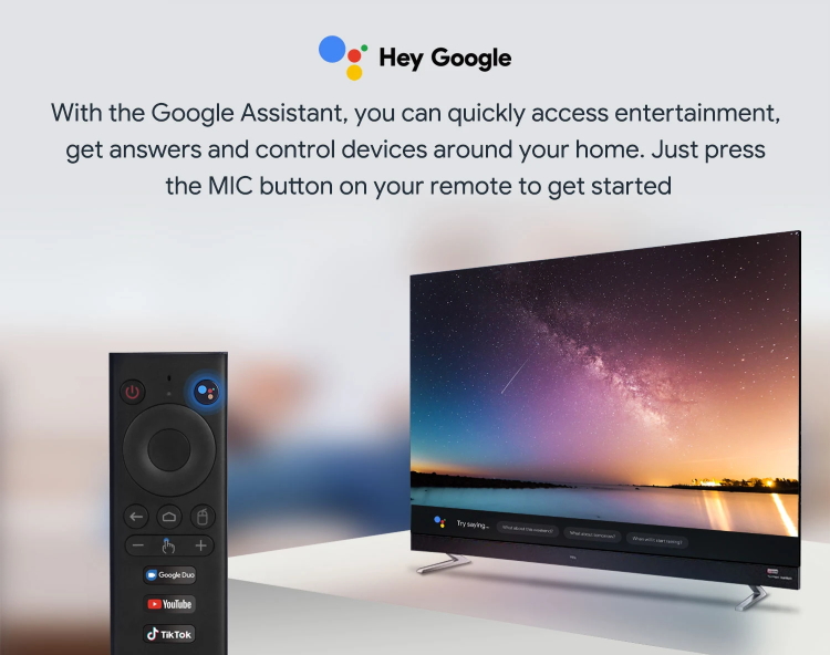 MECOOL Now with Google Assistant