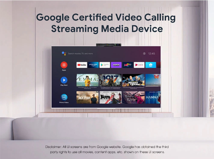 Google Certifed Android TV