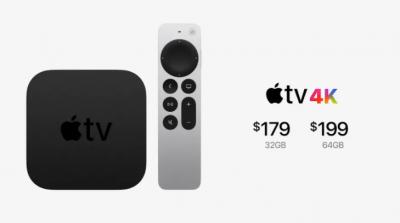 new apple tv 4k pricing