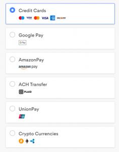 nordvpn payment options