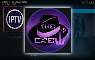 the crew sports kodi