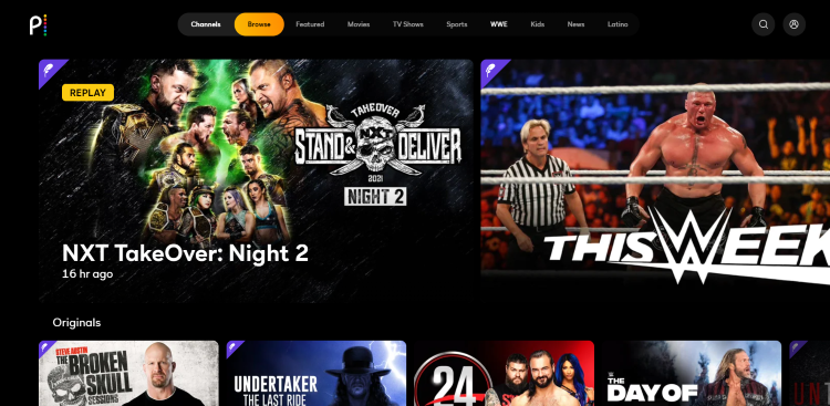It's also the first time WrestleMania will be streamed on Peacock TV since the company migrated the WWE Network over to Peacock last March.
