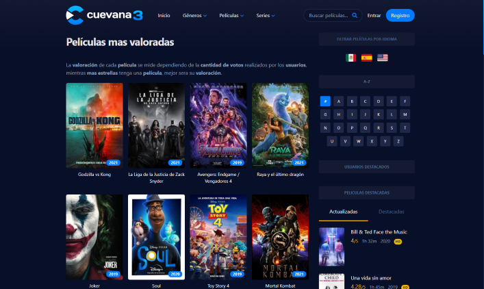 When visiting the official Cuevana domain (cuevana3.io) on the other hand, it appears the website is still online and in operation.