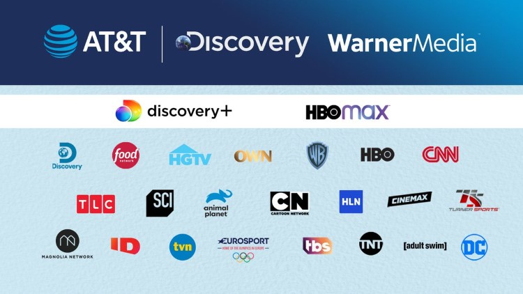 AT&T is agreeing to spin off its WarnerMedia group and merge with Discovery Inc to combine these companies' large media portfolios.