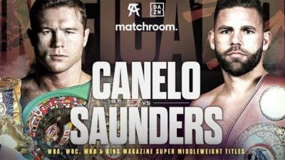 Canelo Alvarez vs Billy Joe Saunders fight card