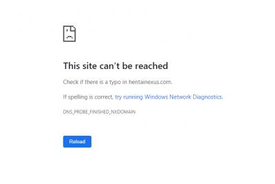 site hentainexus fermé