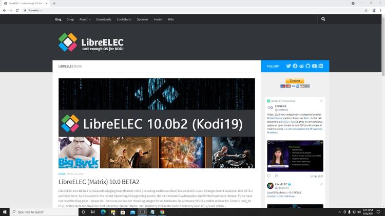 LibreELEC Website