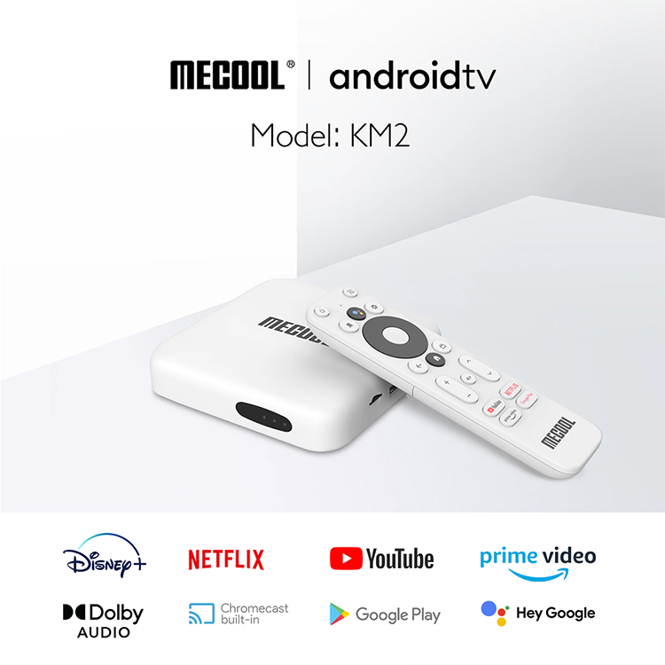 MECOOL KM2 with Netflix