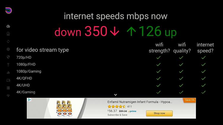 MECOOL KM2 Download Speed