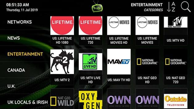 There are also options for PPV, sports packages, adult channels, and other exclusive offerings not included in some live TV services.