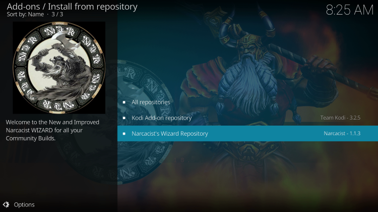 Choose Narcacist's Wizard Repository
