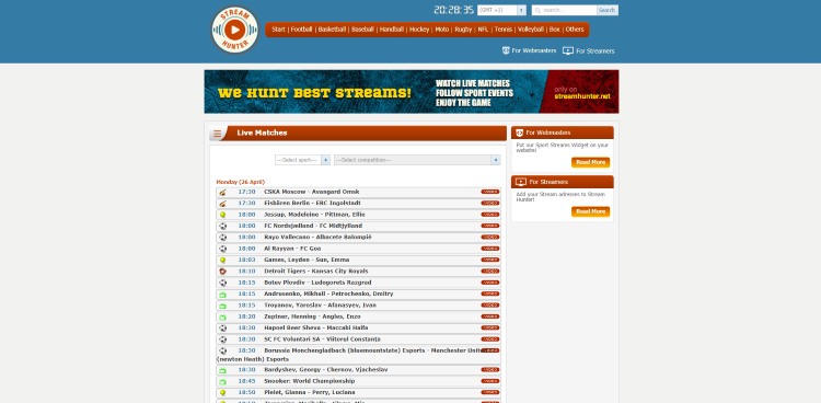streamhunter streaming site