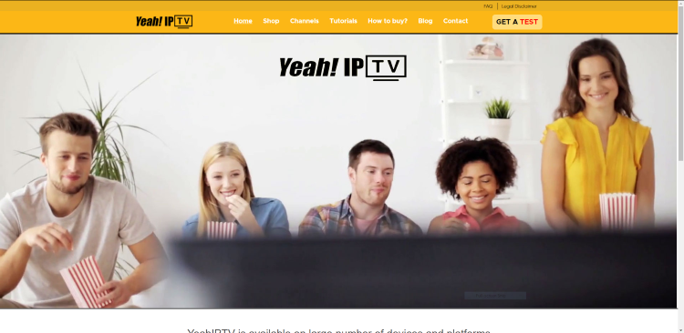 The YeahIPTV service provides over 6,000 live channels with many in HD quality.