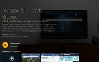 amazon silk browser