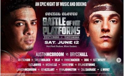 austin mcbroom vs bryce hall fight