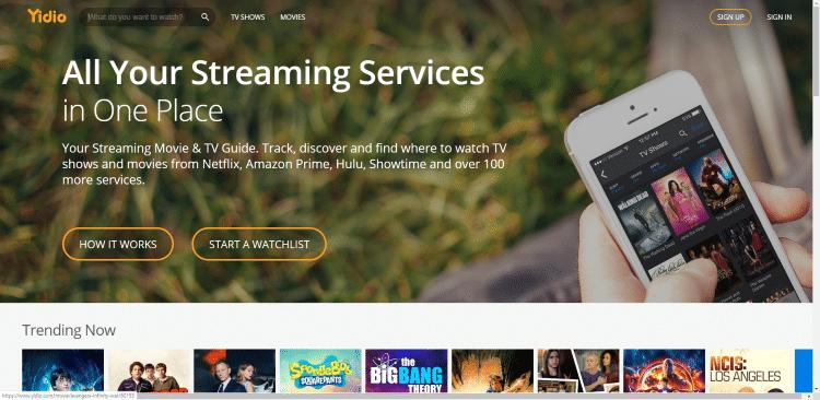 yidio website