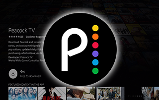peacock tv amazon app store