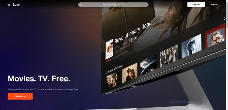 tubi free movie streaming