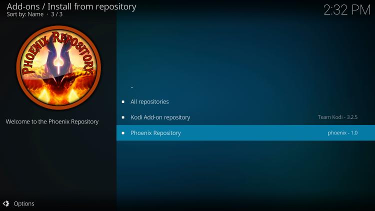 Choose Phoenix Repository