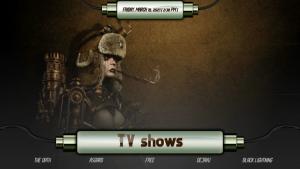 steampunk kodi build tv