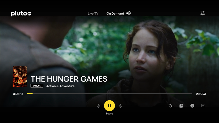 That's it! You can now watch Hunger Games online for free on your Firestick/Fire TV.