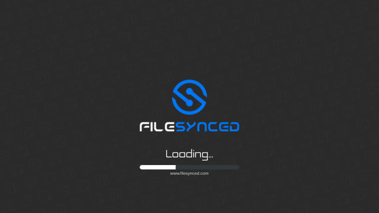 Wait a few seconds for the application to load when first launching the application.