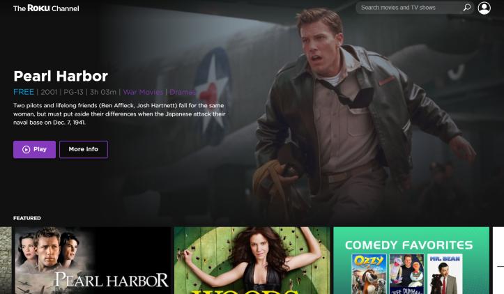 the roku channel website