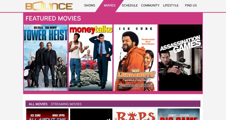 bounce tv website