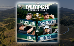 how to watch mickelson/brady