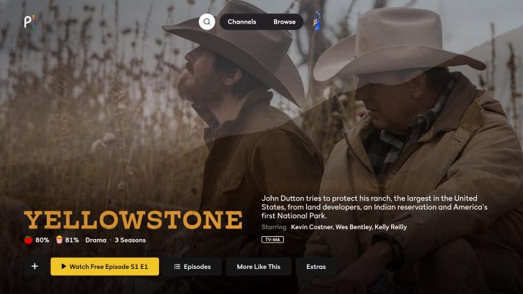 watch yellowstone