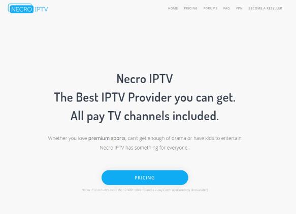 necro iptv website