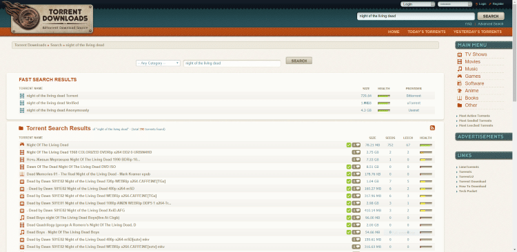 torrent downloads site