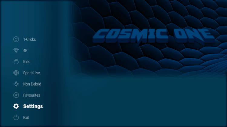 cosmic one kodi build tv shows