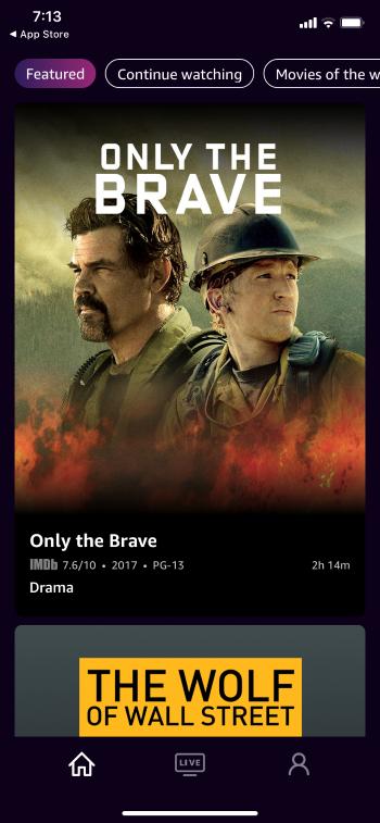 imdb tv library
