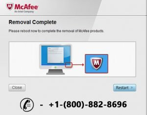 uninstall mcafee with mcafee removal tool