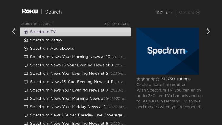 choose spectrum tv