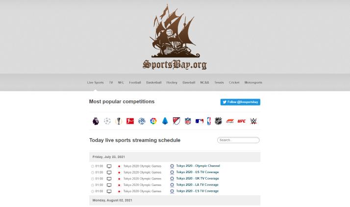 sportsbay website
