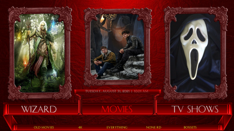 temple kodi build movies