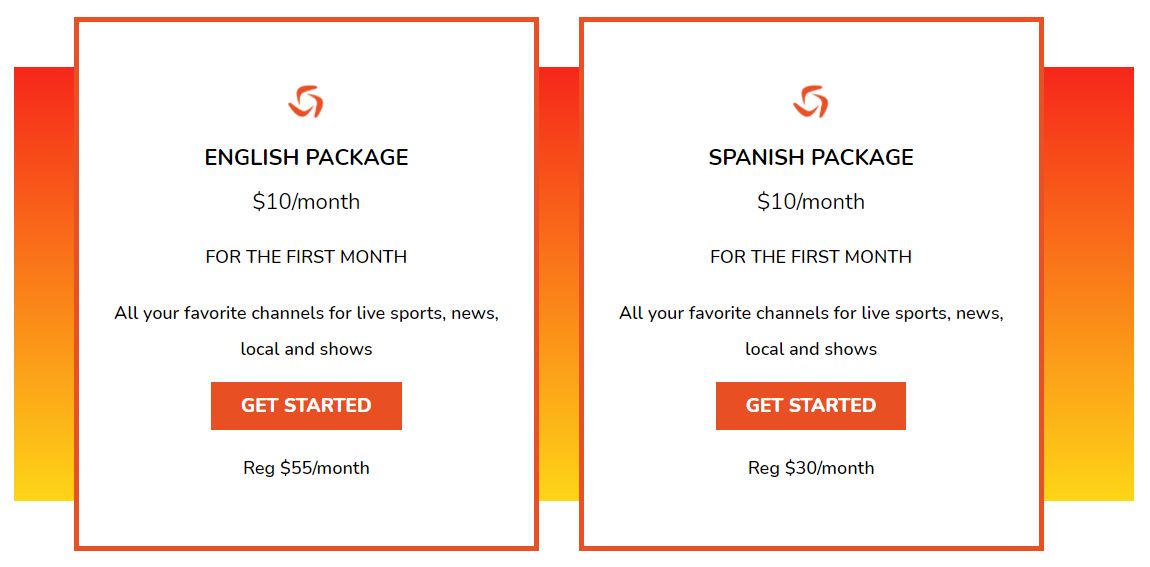 vidgo subscription options