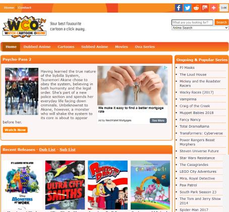watch cartoons online free website