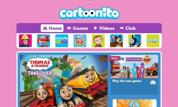 cartoonito website